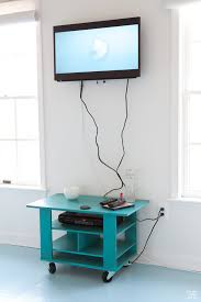 How-to-hide-TV-cords-on-a-wall-
