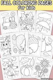 These autumn/fall coloring pages feature pictures to color for autumn/fall. Fall Coloring Pages For Kids Itsybitsyfun Com