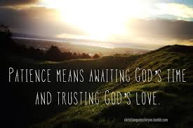 Christian Patience Quotes