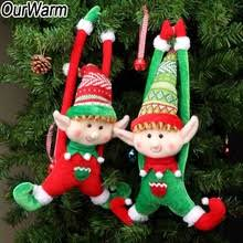 <b>OurWarm</b> 2pcs Natural Wood Christmas Tree Ornament Wooden ...