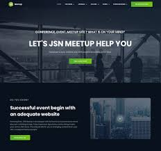 What Is Tamplate Jsn Meetup Professional Event Booking Joomla Template