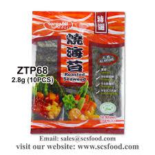 nori sheet nori seaweed sheet for japanese sushi roasted seaweed 2 8g 10pcs