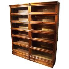 original gany globe wernicke bookcase in perfect condition