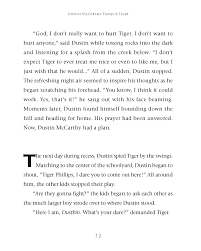 Dustin McCarthy Tames A Tiger – Welcome To The Seraph's Gate