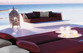 paolalenti tranquil outdoor setting detail outdoor living idea eastern inspired beach setting from paola lenti