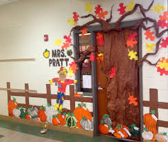 classroom door decorations for fall. Contemporary For Fall Pumpkin Patch Classroom Door Decoration Features Different In Decorations For R