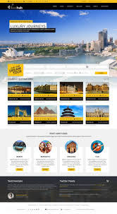 Website Html Templates Travel Hub Touring Packages HTML Template By Themebazaar 23