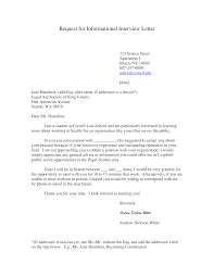 Interview Appointment Request Letter Templates At