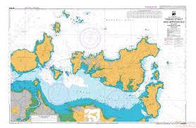 Sea Charts Nz Nz 5324 Tamaki Strait And Approaches Including Waiheke Island Chart