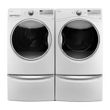 Washer And Dryer Dimensions Front Loading Wfw92hefw Whirlpool 45 Cu Ft Front Load Washer With Load Go