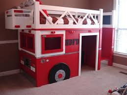 diy fire truck bunk bed finished fire truck bunk bed