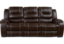nobby design ideas power reclining sofa baycliffe brown sofas