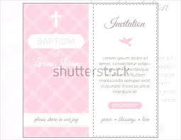 Invitation Layout Free Baptism Invitations Free Templates Info Free