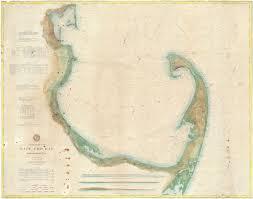 Coast Chart No 110 Cape Cod Bay Massachusetts