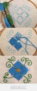 Allstitch Embroidery Designs Hand Embroidery Stitches Tutorial Step By Step