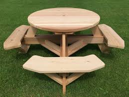 round picnic table 45 top