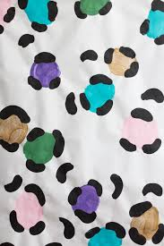 libbie summers gift wrap holiday wrapping paper diy presents leopard