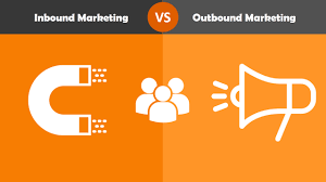 Inbound Vs Outbound Marketing Small Business Marketing Inbound Vs Outbound Which Is Better