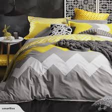 duvet quilt cover set marley yellow