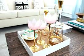 Serving Tray Decoration Ideas Coffee Table Tray Coffee Table Picturesque Best Decorating Ideas 43