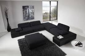 Futuristic Living Room Sets Sofa : Simple yet Elegant Black Living Room  Furniture Sets  Ingrid Furniture
