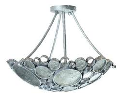 recycled glass lighting. Silver Crystal Recycled Glass Light Fixtures The Steel Is 70% Or Higher Content Dependent Lighting