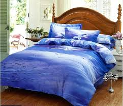 sea bedding sets blue purple seagull bird sea bedding set queen size quilt duvet cover bed in a bag sheets bedspread bedroom linen cotton in bedding sets