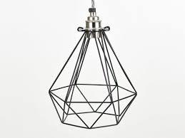 vintage industrial diamond wire cage