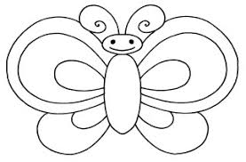 picture of a butterfly to colour. Plain Butterfly Colour In Butterfly 7 With Picture Of A To M