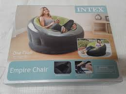 intex inflatable furniture. Intex Inflatable Air Chair \u2014 Lime Green Furniture