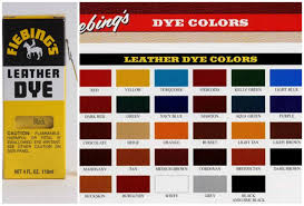 fiebings leather dye 4 oz with applicator shoes boots bag dark brown color