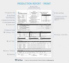 Free Production Report Format Excel Downtime Template Cost Daily