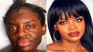 impressive makeup transformation by goar avetisyan