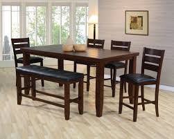 Counter Height Bistro Table Set Pub Dining Table Pub Table And Bench Set All Products Kitchen