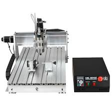 desktop cnc router aluminium composite panel 4 axis 6040z s65j with crew and 1 5 kw