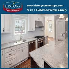 new river white granite countertops polished surface custom size and standard size kitchen worktops for multi family and hospitality projects