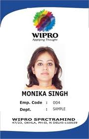 sample id cards rectangular and square white id card rs 15 piece h r solutions