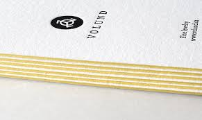Letter Press Business Card Letterpress Business Cards Publicide Nyc The Sharpest Cuts