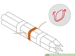 simple electric motor diagram. Fine Motor Image Titled Build A Simple Electric Motor Step 2 And Diagram