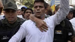 Image result for Opositor venezolano Leopoldo López condenado a 13 anos de prisão