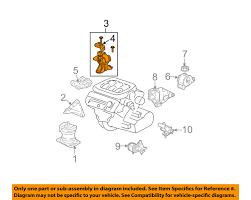 acura honda oem 03 06 mdx engine motor mount torque strut acura honda oem 03 06 mdx engine motor mount torque strut 50820s3va91