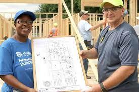 Van Alstyne woman works on her own Habitat home - News - Van Alstyne Leader  - Van Alstyne, TX