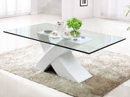 white glass top coffee table stands