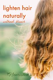 5 ways to naturally lighten hair at