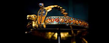 diadem king tutankhamun the egyptian museum cairo