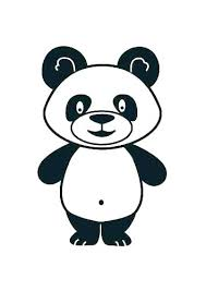Panda Coloring Panda Coloring Pages To Print Bear Picture Of