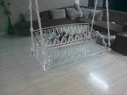 Acrylic furniture Modern Acrylic Swing 004 Cb2 Acrylic Swing Manufacturer In Gujarat India By Clara Acrylic