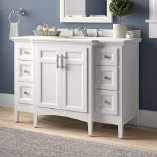 Luz 48 Single Bathroom Vanity Set Single Bathroom Vanity Bathroom Vanity Vanity Set