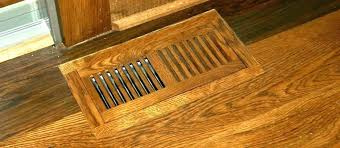 wood return grills floor air vents vent covers wood custom reclaimed antique oak cold return c