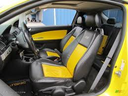 Ebony/Yellow Interior 2005 Chevrolet Cobalt SS Supercharged Coupe ...